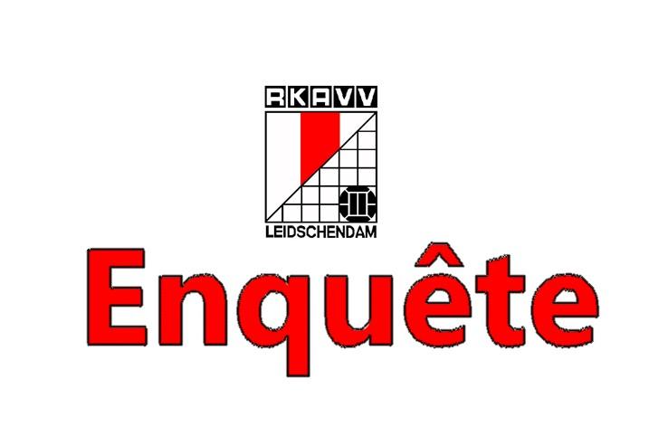 Enquête voor leden RKAVV