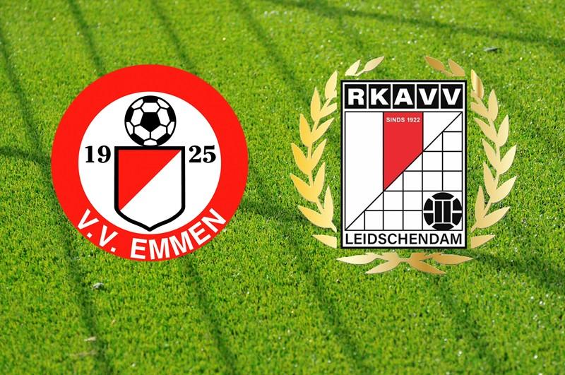 Zondag 5 september Emmen (av) - RKAVV 1