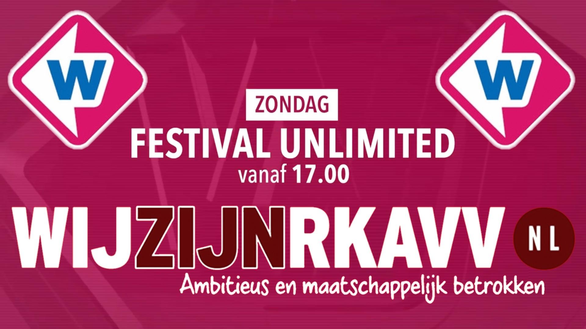 Deze week Festival Unlimited op TV bij Omroep West