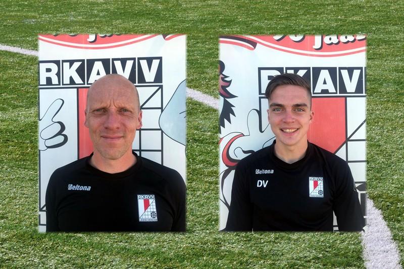 Arjan Heijne en Dennis Vader nieuwe trainersduo JO11