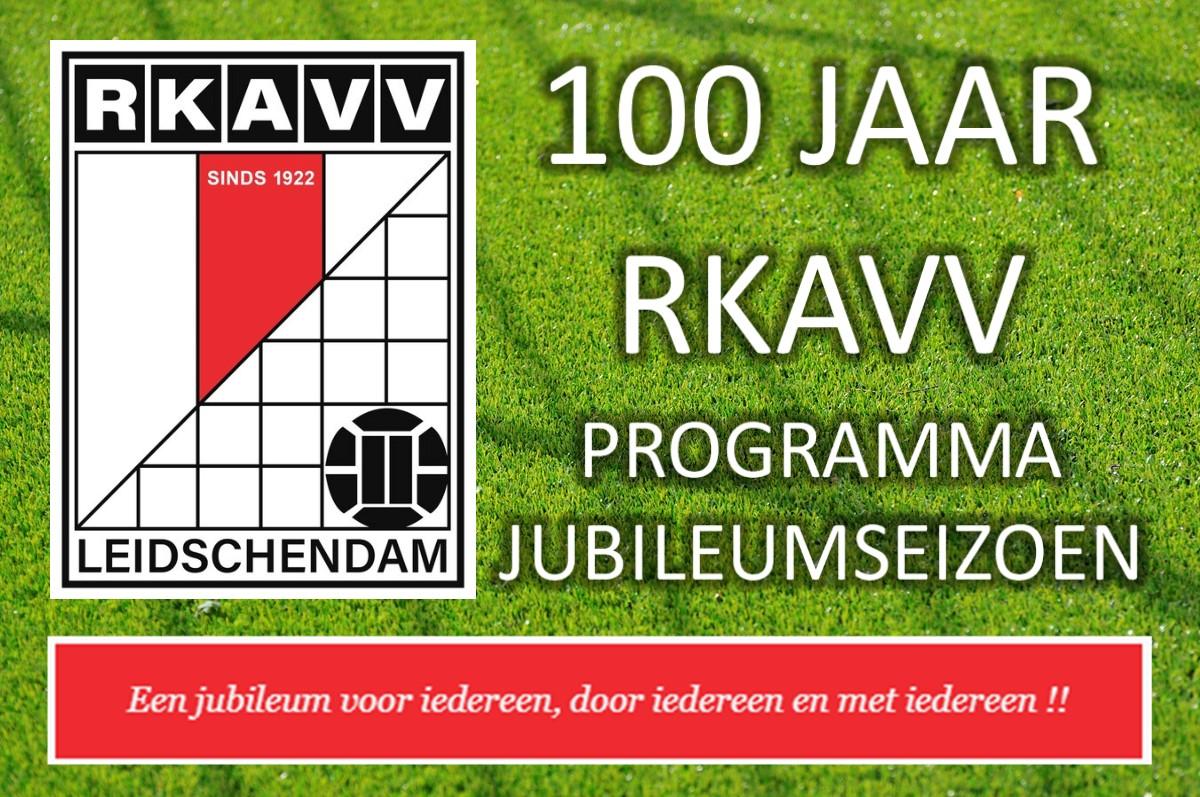 RKAVV 100 jaar - Programma Jubileumseizoen