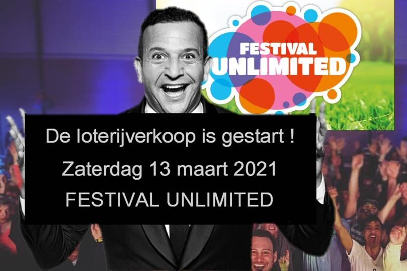 Festival Unlimited: zaterdagavond 13 maart online met Najib Amhali!
