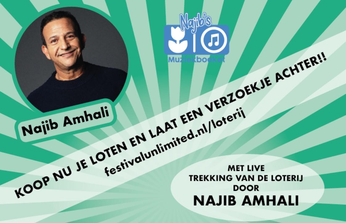 Vanavond LIVE met Najib Amhali - Koop een lot en doe mee!