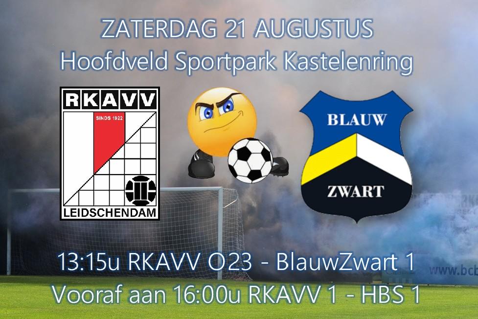 Zaterdag 13:15u RKAVV O23 - RKSV Blauw-Zwart 1