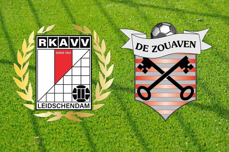 Zondag 10 oktober 14:00u: RKAVV 1 - De Zouaven 1