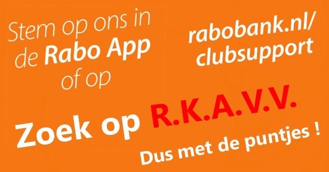 RABO Clubsupport: VV R.K.A.V.V.
