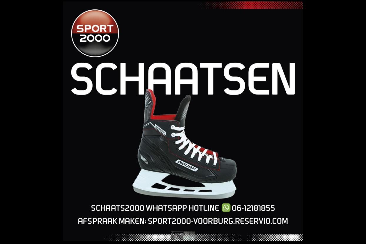 Volop schaatsartikelen bij Sport2000 Voorburg
