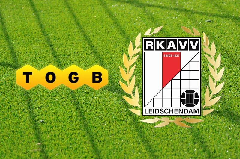 Zondag 3 oktober 14:00u: TOGB 1 - RKAVV 1