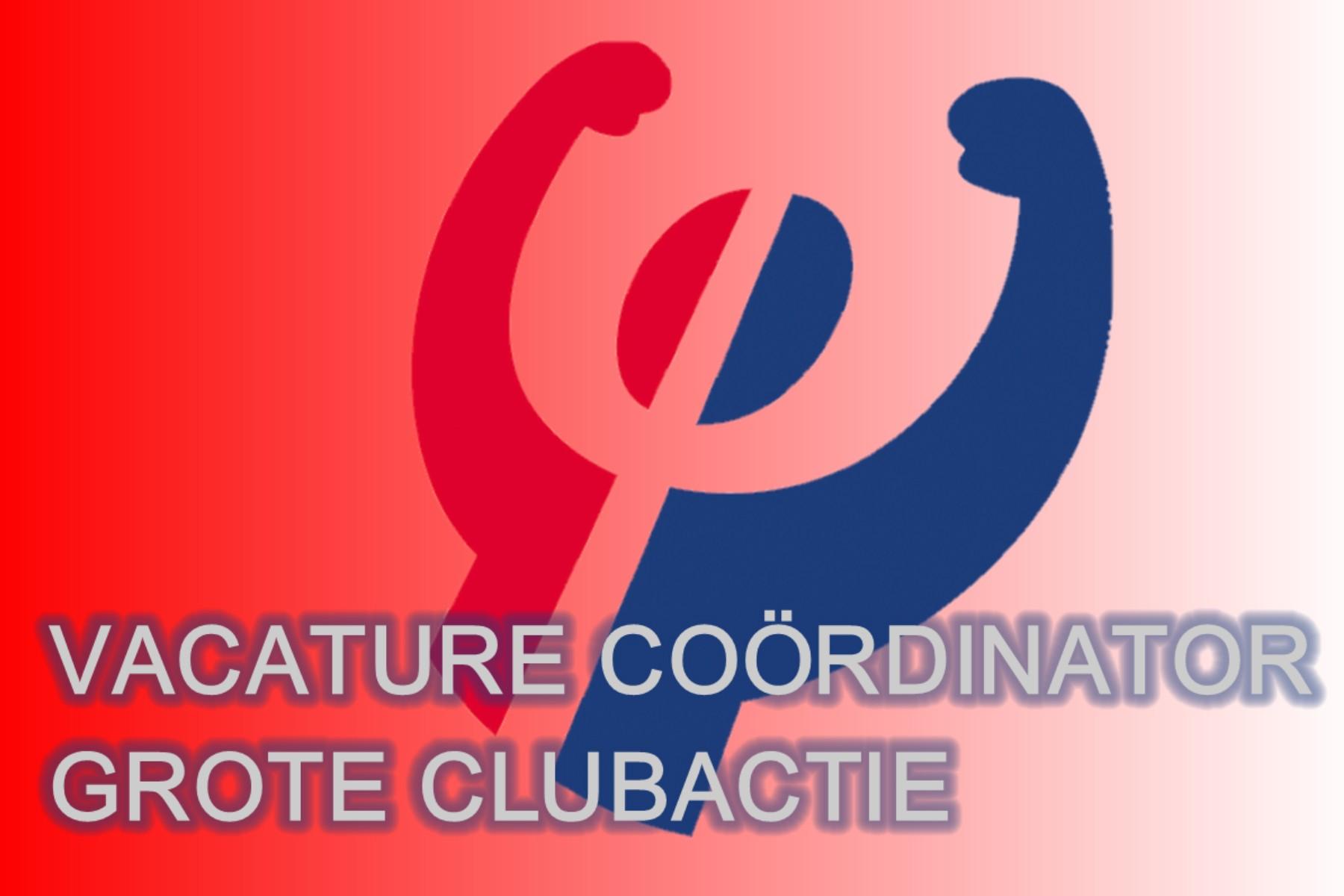 Vacature Coördinator Grote Clubactie