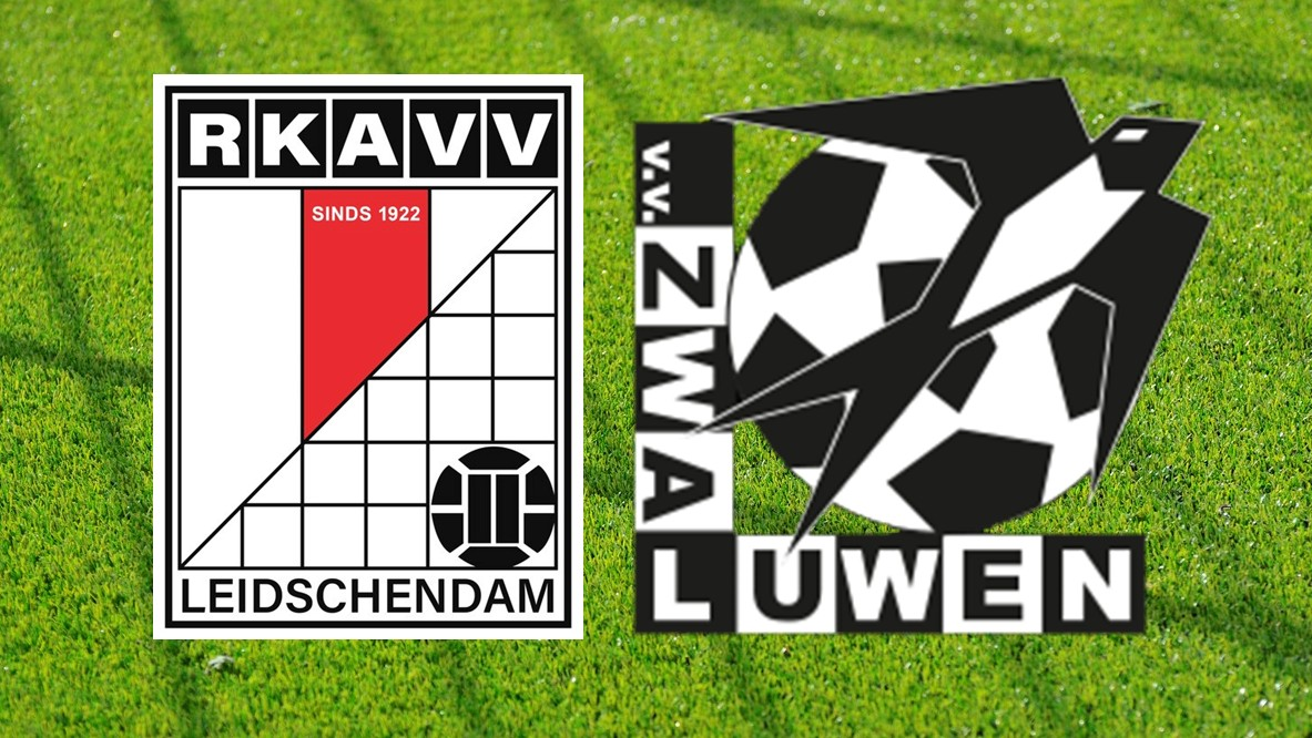 zaterdag 7 augustus aanvang 15.00 uur  RKAVV 1 – Zwaluwen Vlaardingen 1